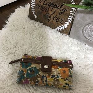 Relic floral wallet